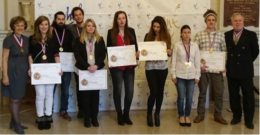 Avec les lauréats de la Seine-et Marne toutes spécialités…